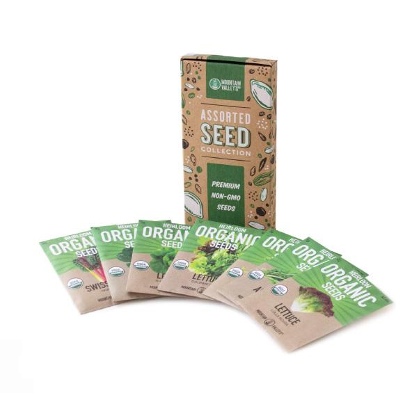Organic Seed Packs