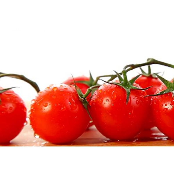 Isla's Garden Seeds Heirloom Seed 1 Red Cherry Tomato Seeds, 500+ Premium Heirloom Seeds, Small and Delicious! Fantastic Addition to Your Home Garden!, (Isla's Garden Seeds), Non GMO, 90%+ Germination Rates, Highest Quality, 100% Pure