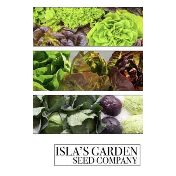 "Isla's Garden Seeds Organic Seed 3 ""Arianna Romaine"" Lettuce Seeds, 1000+ Premium Organic Heirloom Seeds, Batavian Lettuce, ON SALE!, (Isla's Garden Seeds), Non Gmo Survival Seeds, 99.7% Purity, 85% Germination, Highest Quality!"
