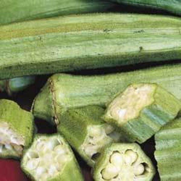 Seed Kingdom Heirloom Seed 1 Okra Clemson Spineless Great Heirloom Vegetable Bulk 1 Lb Seeds