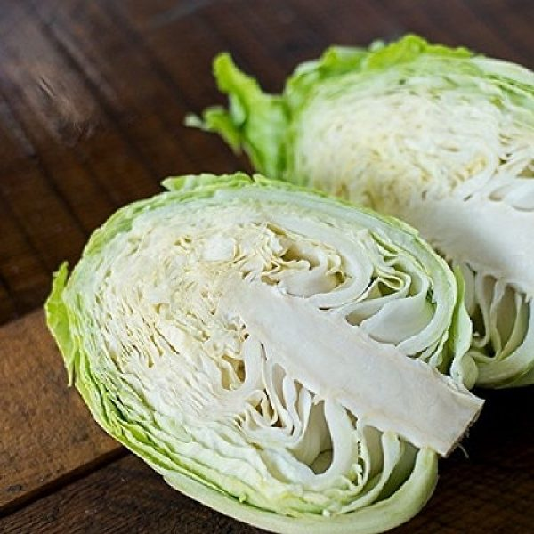 "Isla's Garden Seeds Organic Seed 4 ""Brunswick"" Cabbage Seeds, 300+ Premium Organic Heirloom Seeds, Fantastic Addition to Home Garden!, (Isla's Garden Seeds), Non GMO, 85% Germination Rates, Highest Quality Seeds, 100% Pure"