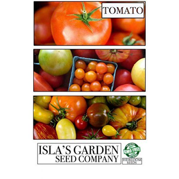 Isla's Garden Seeds Heirloom Seed 5 Sugar Lump Cherry Tomato, 200+ Premium Heirloom Seeds, Sweet Satisfying Flavor, (Isla's Garden Seeds), Non GMO, 90% Germination, Highest Quality 100% Pure