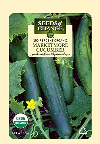 SEEDS OF CHANGE  3 Seeds of Change Certified Organic Marketmore Cucumber