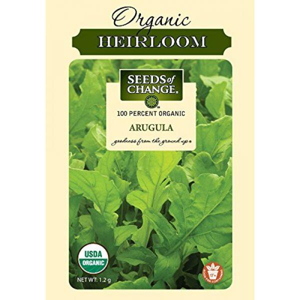 SEEDS OF CHANGE Organic Seed 1 Seeds of Change Certified Organic Arugula