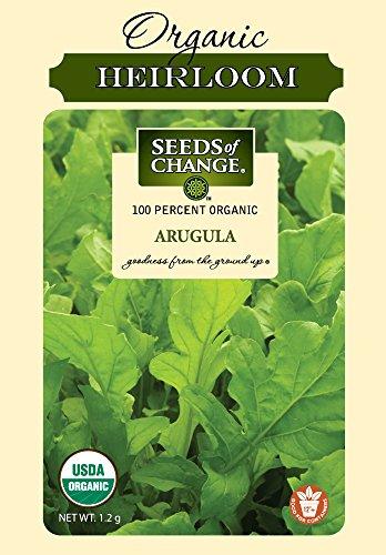 SEEDS OF CHANGE  1 Seeds of Change Certified Organic Arugula