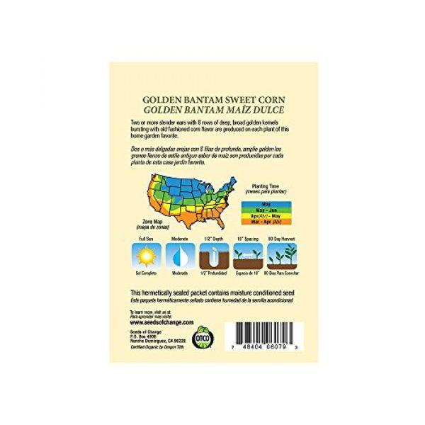SEEDS OF CHANGE Organic Seed 2 Seeds Of Change 6079 Certified Organic Golden Bantam Corn
