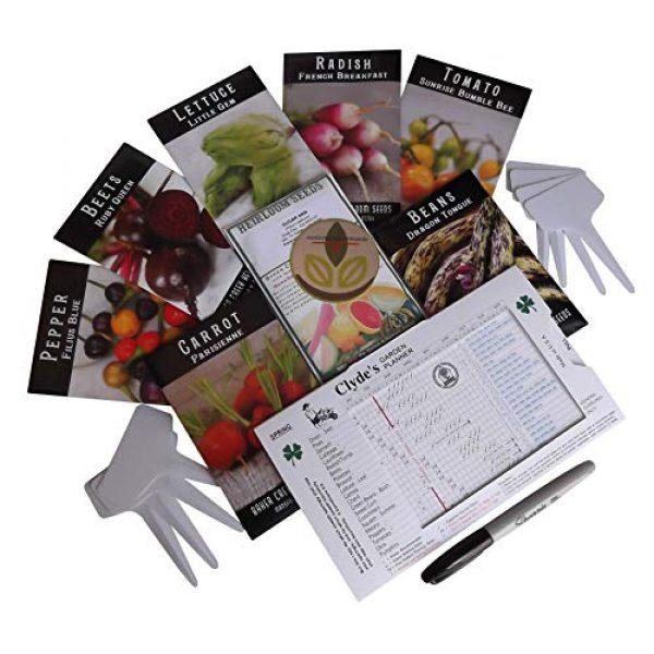 Western Premium Brands Heirloom Seed 1 Baker Creek Heirloom Vegetable Seeds 2020 for Planting Home Garden Variety Pack with Planting Guide Kit - Tomato, Lettuce, Carrot, Peppers, Radish, Peas, Beet, Bush Bean