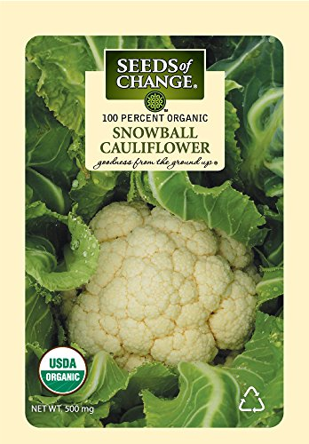 SEEDS OF CHANGE  2 Seeds Of Change 8177 Certified Organic Snowball Cauliflower