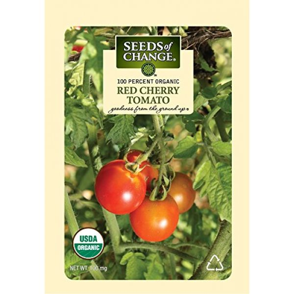 SEEDS OF CHANGE Organic Seed 1 Seeds of Change Certified Organic Red Cherry Tomato