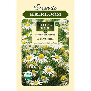 SEEDS OF CHANGE Organic Seed 1 Seeds of Change S10695 Certified Organic German Chamomile