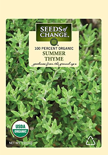 SEEDS OF CHANGE  1 Seeds Of Change 8093 Certified Organic Summer Thyme