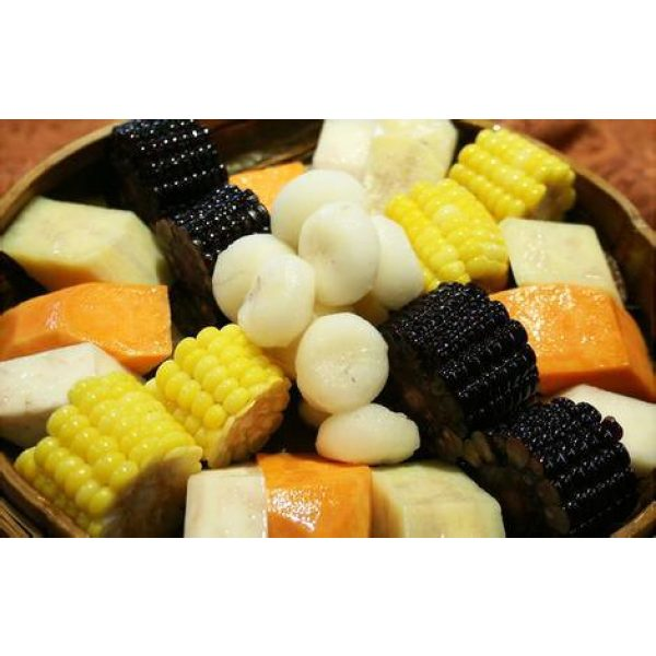 Kuting Organic Seed 5 Corn Seeds 30g Sweet Black Giant Waxy Sticky Corn Survival Garden Vegetable Organic Chinese Fresh Fruit Seeds for Planting Outdoor for Cooking Soup Salad Juice Taste Sweet Delicious(Black Corn Seeds)
