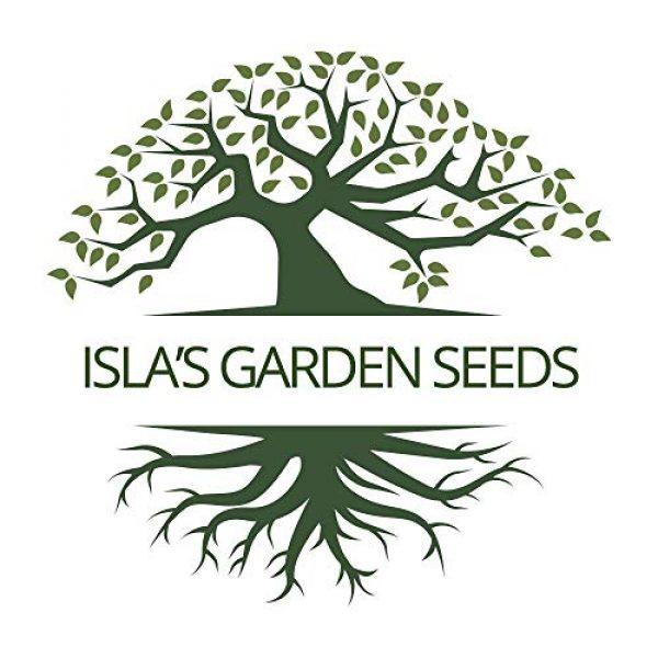 Isla's Garden Seeds Heirloom Seed 7 Golden Wax Bush Bean Plant Seeds, 50+ Premium Heirloom Seeds, (Isla's Garden Seeds), 90% Germination, Non GMO, Highest Quality Seeds