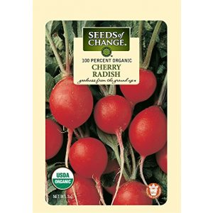 SEEDS OF CHANGE Organic Seed 1 Seeds of Change Certified Organic Cherry Belle Radish