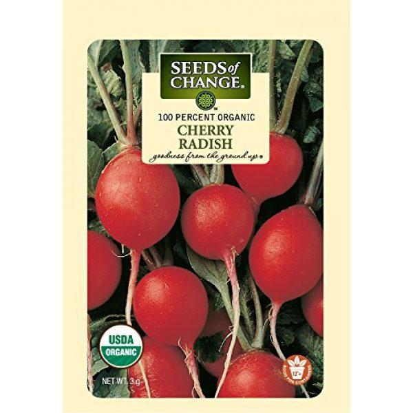 SEEDS OF CHANGE Organic Seed 1 Seeds of Change Certified Organic Cherry Belle Radish