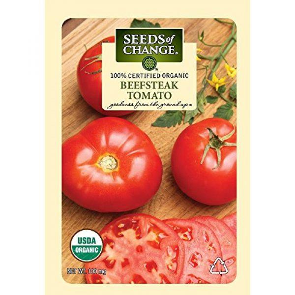 SEEDS OF CHANGE Organic Seed 1 Seeds of Change Certified Organic Seed Beefsteak Tomato