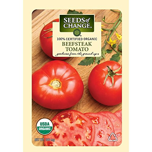 SEEDS OF CHANGE  1 Seeds of Change Certified Organic Seed Beefsteak Tomato