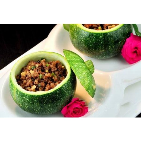 Kuting Organic Seed 4 Small Pumpkin Seeds 25+ Green Striped Cushaw Squash Melon Garden Vegetable Organic Chinese Fresh Herb Climbing Seeds for Planting Outdoor for Cooking Dish Soup Easy to Grown (Small Pumpkin Seeds)
