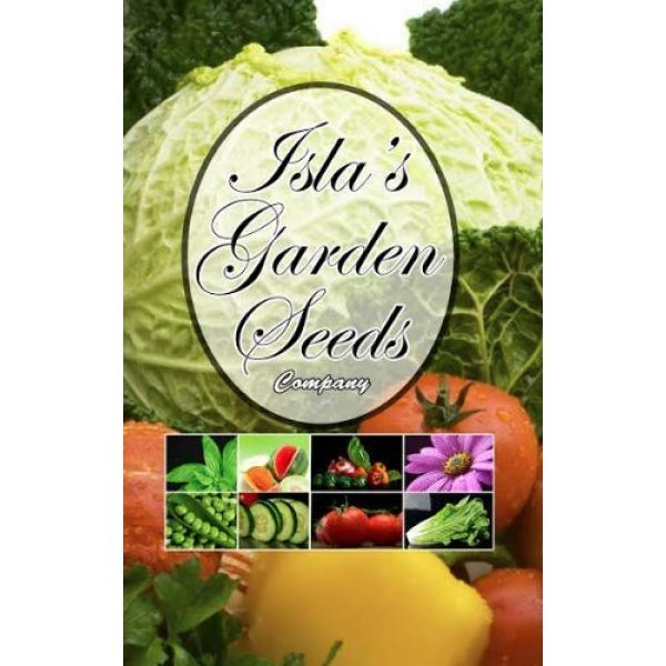 Isla's Garden Seeds Heirloom Seed 7 Golden Acre Cabbage Seeds, 500+ Premium Heirloom Seeds, Fantastic Addition to Your Home Garden! Fresh & Crisp!, (Isla's Garden Seeds), Non GMO, 85% Germination Rates, Highest Quality Seeds