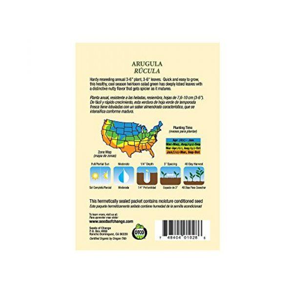 SEEDS OF CHANGE Organic Seed 3 Seeds of Change Certified Organic Arugula