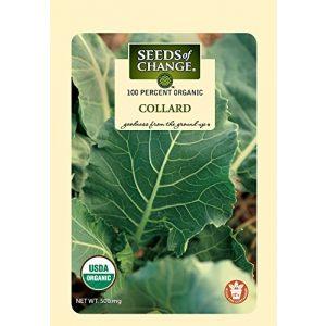 SEEDS OF CHANGE Organic Seed 1 Seeds of Change Certified Organic Collard