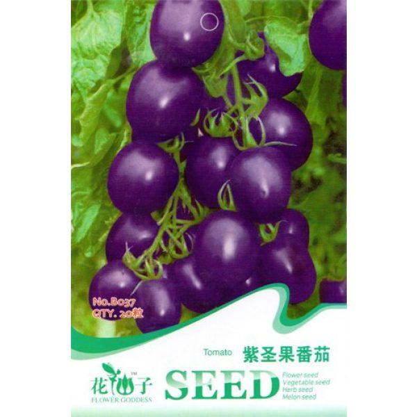 Business sasha Heirloom Seed 1 Business sasha Each Pack 25+ Seeds Garden Heirloom Vegetable Cherokee Purple Blue Tomato Seeds (3)