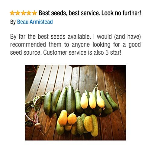 Grow For It  6 Heirloom Vegetable Seeds Non GMO Survival Seed Kit - Part of Our Legacy and Heritage - 50 Varieties 100% Naturally Grown- Best for Gardeners Who Raise Their Own Healthy Food