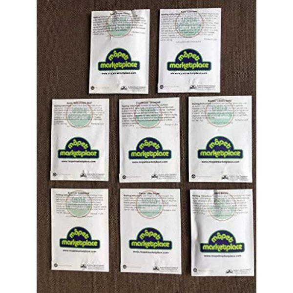 Mopet Marketplace Organic Seed 2 Premium Winter Vegetable Seeds Collection.Certified Organic Non-GMO Heirloom Seeds USDA Lab Tested. Broccoli, Beet, Carrot, Cauliflower, Green Bean, Kale, Pea, Radish. Gardener