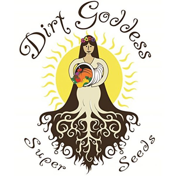 Dirt Goddess Super Seeds Organic Seed 7 Bulk Organic Green Sprouting Calabrese Broccoli (1 Lb)