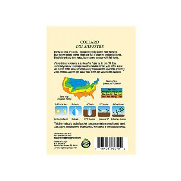 SEEDS OF CHANGE Organic Seed 2 Seeds of Change Certified Organic Collard