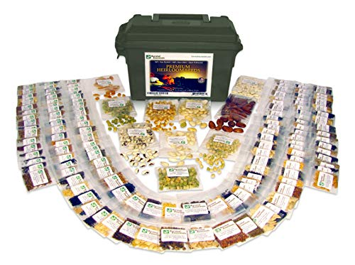 Survival Essentials  1 Survival Essentials 144 Variety Ultimate Heirloom Seed Vault for Survival and Preparedness - 23
