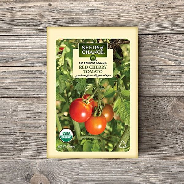 SEEDS OF CHANGE Organic Seed 2 Seeds of Change Certified Organic Red Cherry Tomato