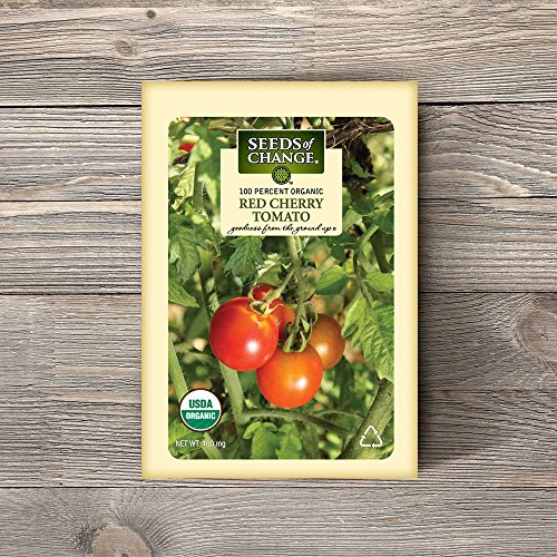 SEEDS OF CHANGE  2 Seeds of Change Certified Organic Red Cherry Tomato