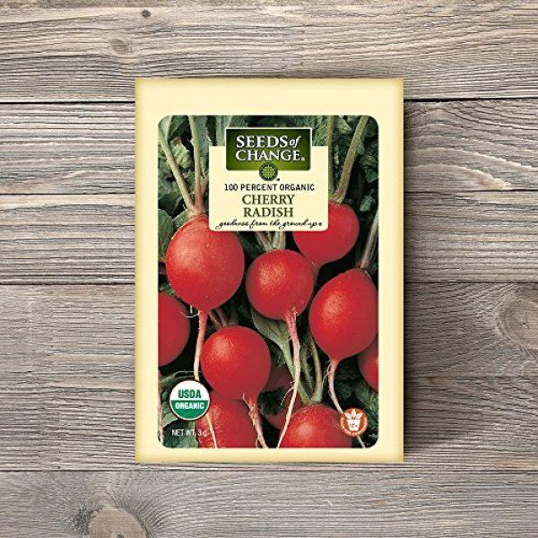 SEEDS OF CHANGE Organic Seed 2 Seeds of Change Certified Organic Cherry Belle Radish
