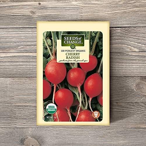 SEEDS OF CHANGE  2 Seeds of Change Certified Organic Cherry Belle Radish